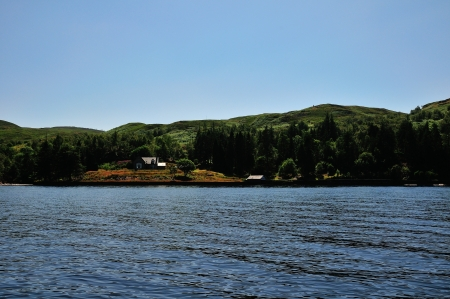 Loch Katrine from The Lady of the Lake  photo
