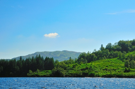 sir walter scott: Loch Katrine from the Lady of the Lake