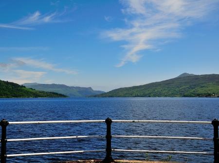 Loch Katrine from the Pier at Stronachlachar  photo