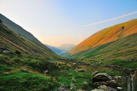 sheep warning: Kirkstone Pass in the English Lake District