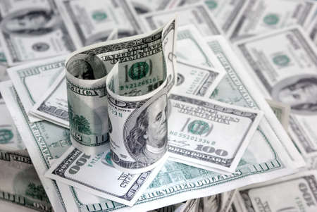 Hunder dollar heart (love money)