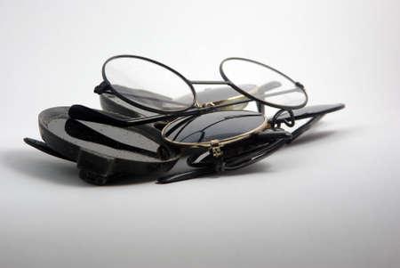 oldschool: Old-school round glasses set
