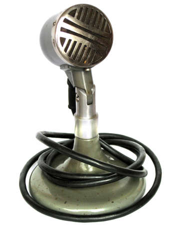old school microphone