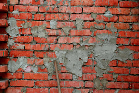 Photo of the texture of a brick wall photo