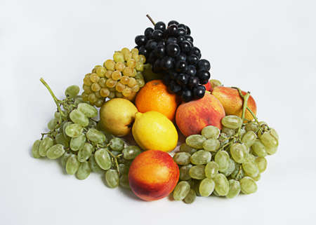 Photographing of fresh fruit in unusual positions for conceptual use photo