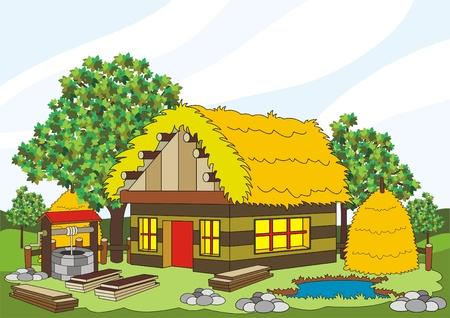 village house Stock Vector - 9395498