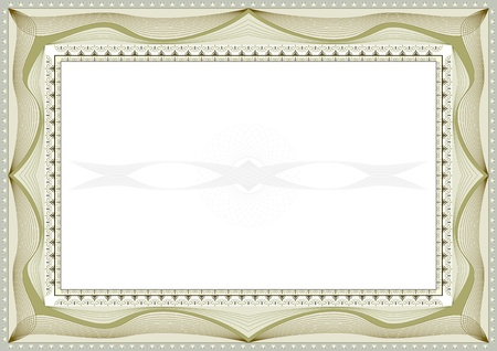certificate seal: certificate background Illustration