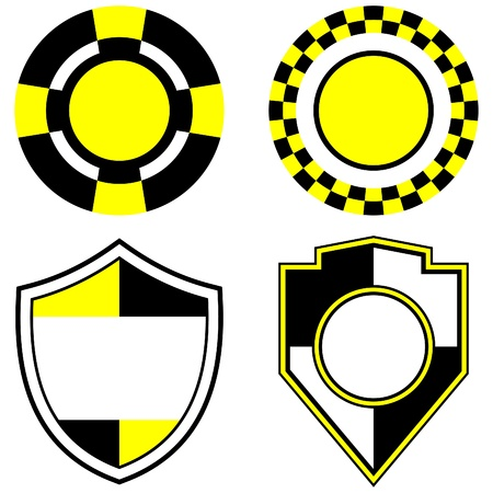 logo marketing: taxi signs and emblems