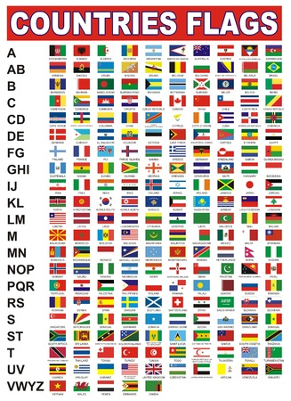 world flag: countries flags