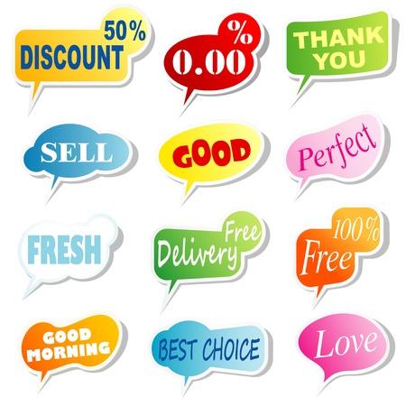 speech bubbles Stock Vector - 11072695