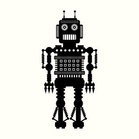retro robot: robot