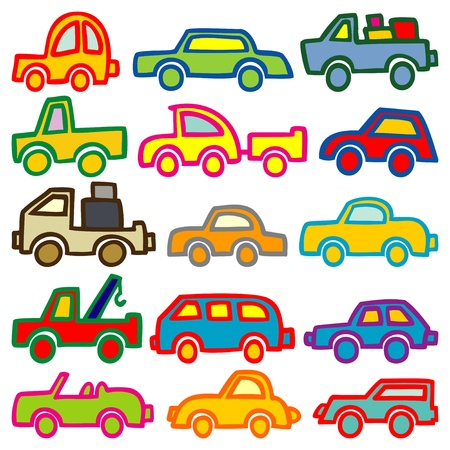 automobiles: cars and trucks