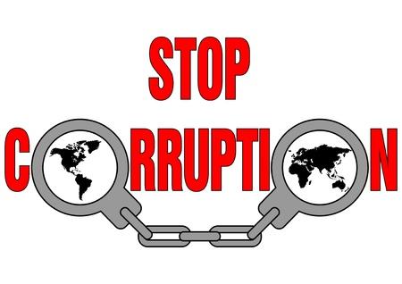corrupcion: detener la corrupción