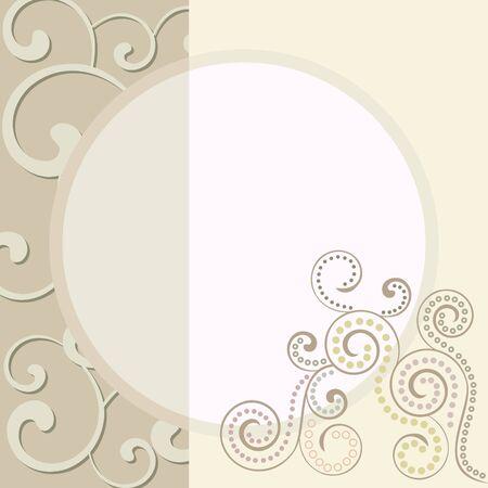 detail invitation: wedding invitation card