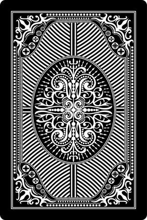 playing card back side 60x90 mm Stock Vector - 14167519