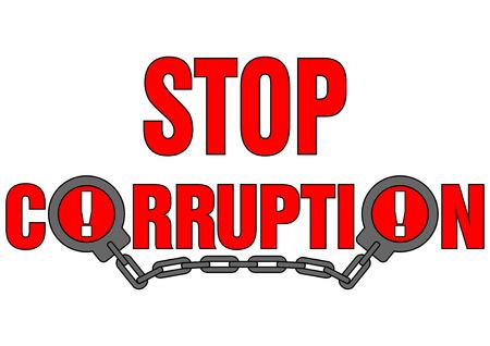 corrupcion: detener la corrupci?n