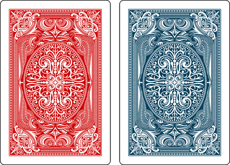 playing cards back side