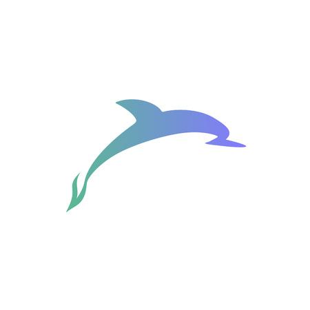Vector dolphin logo