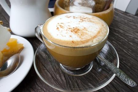 eine Tasse espresso Standard-Bild
