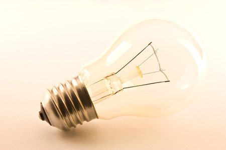 success focus: light bulb Stock Photo