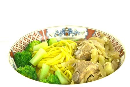 Noodles With Pork Bones photo