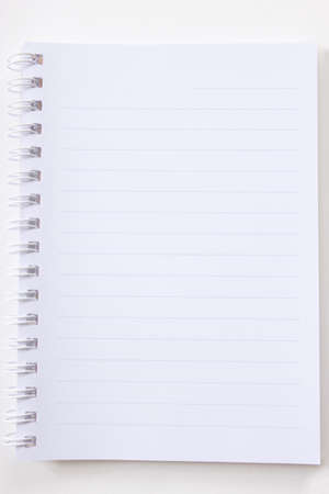 Blank notebook Stock Photo - 11108226