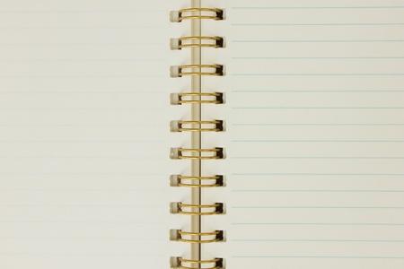 blank notebook Stock Photo - 11252765