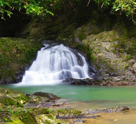 Raman waterfall in Phangnga, Thailand Stock Photo - 11591240