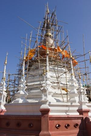 reconstruct: Repair the pagoda