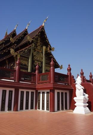 lanna: Royal pavilion in Lanna art period
