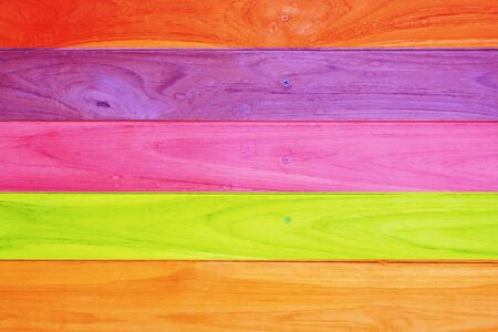 Multi-colored wood texture Stock Photo