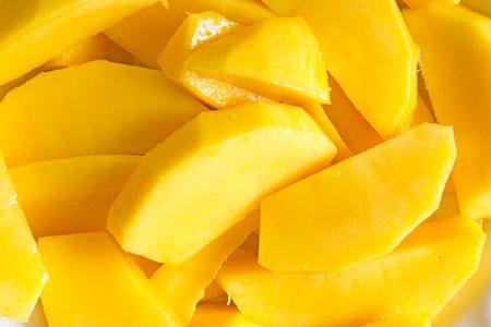 mango fruta: Rebanadas de mango