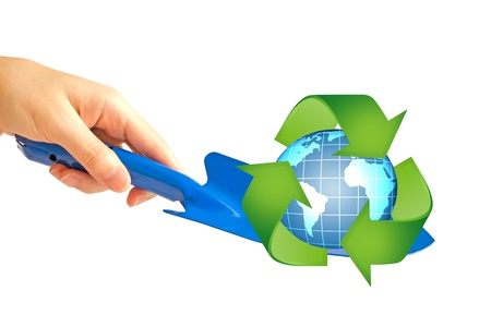 waste prevention: Save the world with our hands