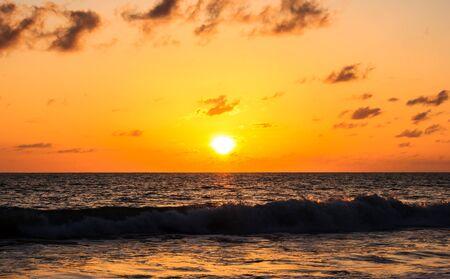 Sunset on the beach Stock Photo - 14610337