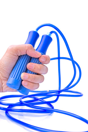 Healthy with exercise, jump rope