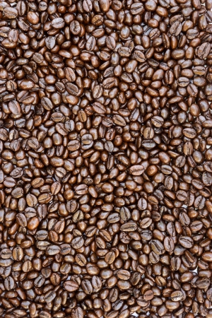 Texture of coffee beans Stock Photo
