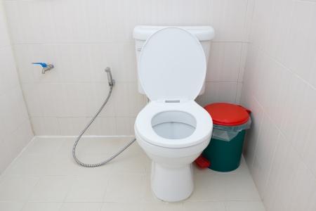 Toilet in the bathroom Stock Photo - 22829251
