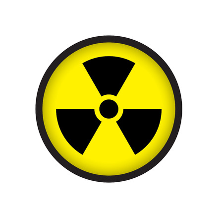 pollutant: Sign of radioactive