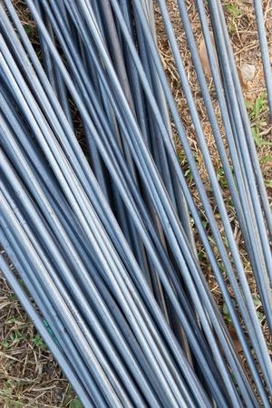 strenghten: Steel rods for construction Stock Photo