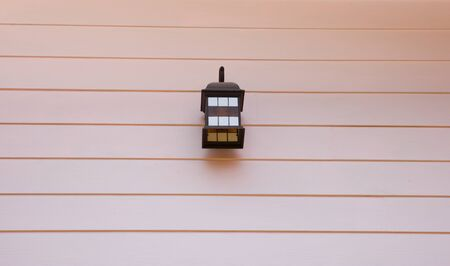 lamplight: Lamp on the wall