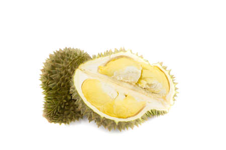 Durian, king of fruits in Thailand Stock Photo