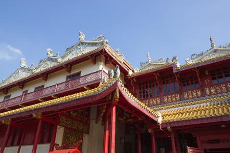 bang pa in: Thailand architecture mixed Chinese at Bang Pa-In palace in Ayutthaya,Thailand