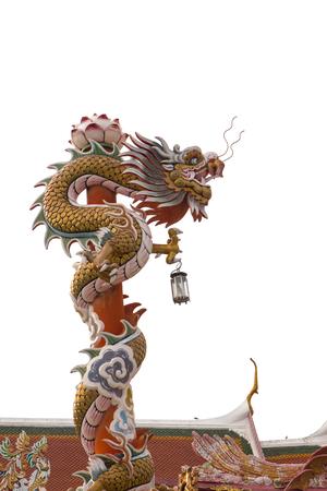 festival scales: Dragon statue Stock Photo