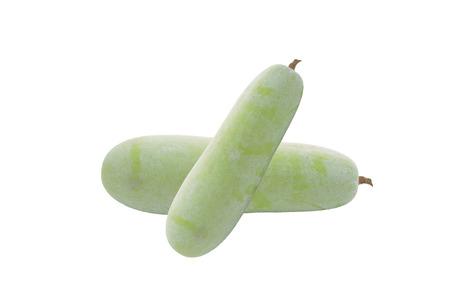 perishable: Gourd isolated on white background Stock Photo
