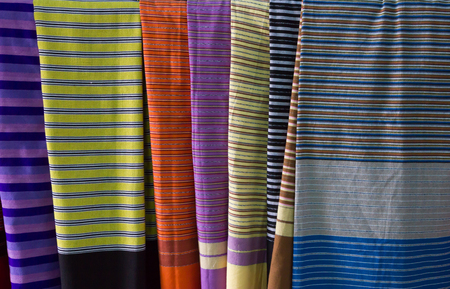 Colorful of sarong