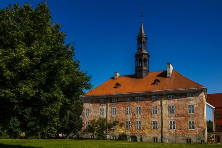 Old Town Hall building in Narva, Estonia