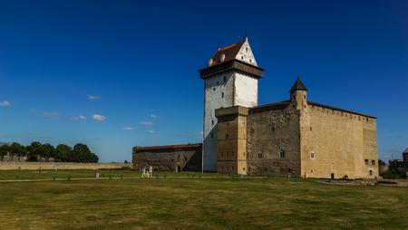 Herman castle in Narva, Estonia Editorial