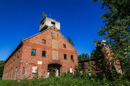 Historic Boyen Fortress in Gizycko, Masuria, Poland