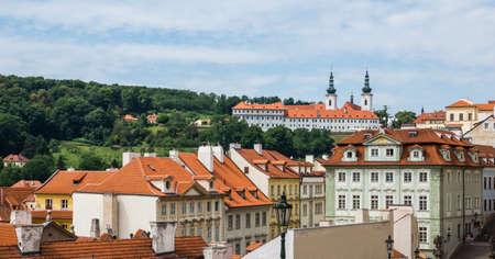Strahov Monastery  in Prague, Czech Republic Stock Photo - 87941563