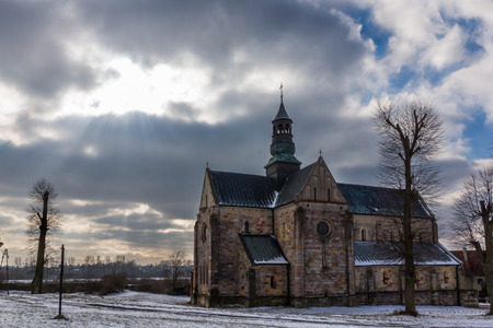 Monastery complex of the Cistercian abbey in Sulejow, Lodzkie, Poland